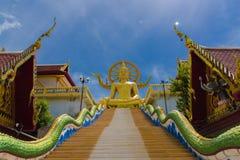 Big Buddha Temple at Koh Samui, Thailand stock photos