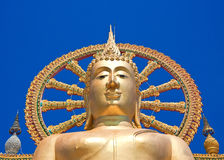 The big buddha temple at Koh Samui, Thailand Stock Photography