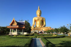 Big Buddha in Thailand Stock Photo