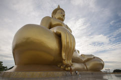 Big buddha. The big buddha in thailand Stock Image
