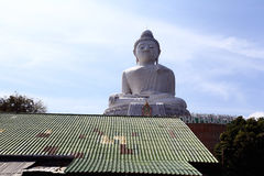 Big Buddha in Thailand Royalty Free Stock Photo