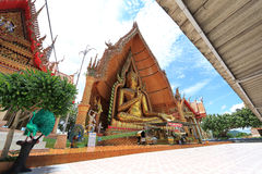 Big Buddha at Tham Sua Temple Royalty Free Stock Photos