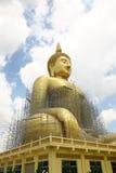Big Buddha under construction Stock Image