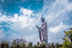 Big Buddha `Ushiku Daibutsu` in Japan. royalty free stock image