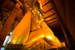Big buddha from Wat Pho Royalty Free Stock Photography