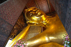 Big buddha from Wat Pho Stock Images