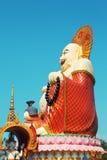 Big Buddha In Wat Plai Laem Royalty Free Stock Photography