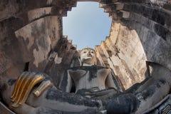 Big Buddha at Wat Sri Chum Sukothai Stock Image