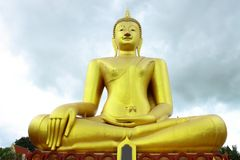 A big Buddha at Wat Sri Sumrong,Sukho Thai Stock Images