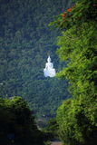 Big Buddha white color Royalty Free Stock Photography