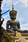 Big  buddhist statue Royalty Free Stock Images