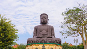 Big Buddhist statue Royalty Free Stock Photography