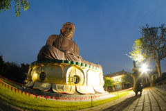 Big Buddhist statue in changhua, taiwan Royalty Free Stock Images