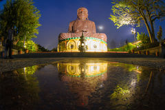 Big Buddhist statue in changhua, taiwan Royalty Free Stock Image