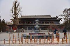 Big Buddhist Temple Stock Photo