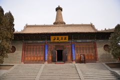 Big Buddhist Temple Royalty Free Stock Photos