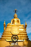 Big budha. Is locate is south of thailand it 45 meter tall Royalty Free Stock Photo