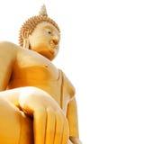 Big Budha. Big golden Buddha at Wat Muang Temple, Angthong, thailand Stock Photo