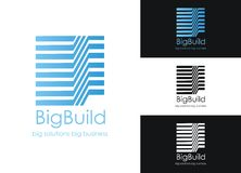 Big Build. Perfect for websites, business cards, company stationery and others stock illustration