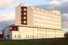 Big building school or university and blue sky Stock Photography