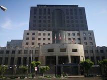 Big building in Tehran, Iran royalty free stock photos
