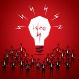 Big idea bulb Royalty Free Stock Photo