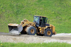 Big bulldozer Stock Photo