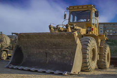 Big bulldozer Royalty Free Stock Photo