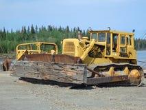 A big bulldozer Royalty Free Stock Images