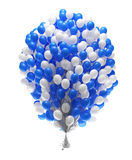 Big bunch of party balloons Royalty Free Stock Images