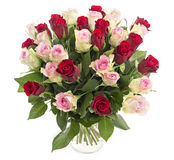 Big bunch of roses Royalty Free Stock Photography