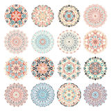 Big Bundle Of Round Ornaments Royalty Free Stock Photography