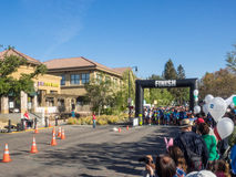 Big Bunny Fun Run. CUPERTINO, CA - APRIL 4: Annual Big Bunny Fun Run, an event that celebrates positive, healthy, and connected community on April 4, 2015 in Stock Image