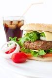 Big Burger Royalty Free Stock Photos