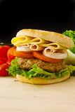 Big Burger Royalty Free Stock Image