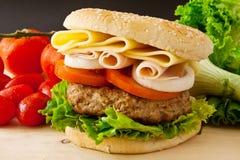 Big Burger Stock Photos