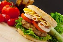 Big Burger Royalty Free Stock Images