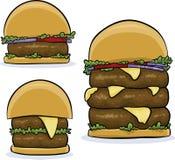 Big Burgers Royalty Free Stock Photo