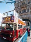 Big bus, Lonon Stock Photography