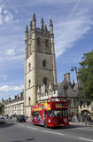 Big Bus at Oxford Royalty Free Stock Images