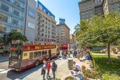Big Bus San Francisco Royalty Free Stock Photography