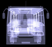 Big bus. X-ray Royalty Free Stock Photos