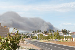 Big bush fire in Perth Royalty Free Stock Photos