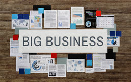 Big Business Capitalism Company Competition Concept. Big Business  Company Competition Concept Stock Photos