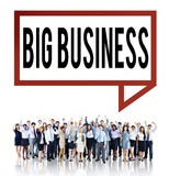 Big Business Competition Capitalism Corporate Concept Royalty Free Stock Photo