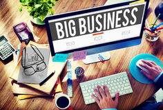 Big Business Competition Capitalism Corporate Concept Stock Photos