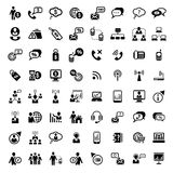 Big business and financial icons set. 64 Vector Business And Financial Icons Set for web and mobile. All elements are grouped royalty free illustration