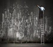 Big business plan Stock Images