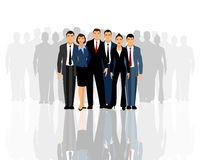 Big business team Stock Images