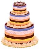 Big cake Stock Photos